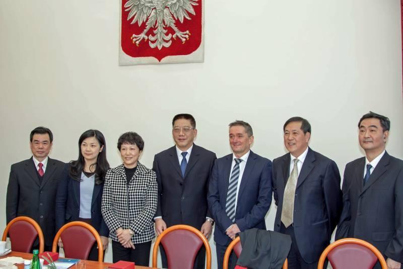 Spotkanie z delegacją prokuratorów z Chińskiej Republiki Ludowej